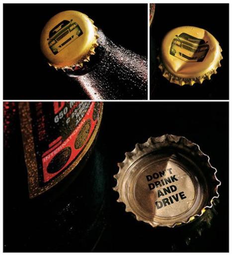 Conforme você abre a cerveja, lembra como pode ficar seu carro