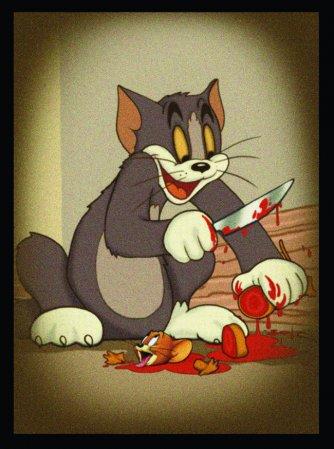 Jerry vira jantar de Tom