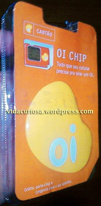 Embalagem do pacote com 2 chips